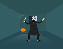 Halloween Door to door chase