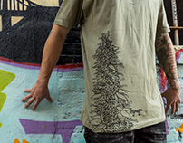 ENGRAFFT Grafted Tendril Cannabis tee
