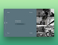 Homepage UI Sketch