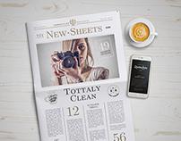 Newspaper Mockup 4