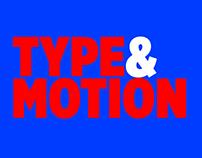 Type & Motion