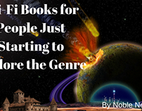 Books for People Just Starting to Explore Sci-Fi