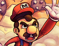 Super Mario all stars- FanArt