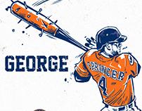 "2017 World Series MVP ""George Springer"""
