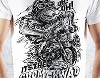 The Grom Skwad - Shirt design - ENGLAND