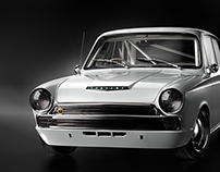 Lotus Cortina - Full CGI : 3D