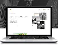 LODHA Luxury Collection Landing Page (Concept)