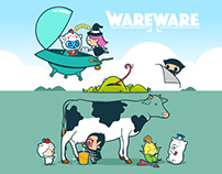 WAREWARE - Animated series and toys