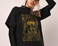Pray For Justice / Textile Design