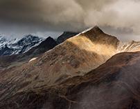 Timmelsjoch. Alps
