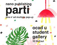 OCAD University-Nano Publishing Promo Poster
