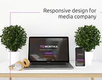 Responsive design for media company