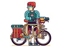 Bicycle Illustration 2016