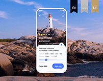 Travel App Design Concept | UI/UX