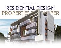 Residential Properties Developer - WebDesign