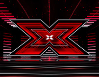 X-FACTOR 9 / Format shows stage graphics