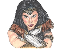 Wonder Woman. Fanart.