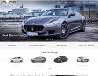 UX/UI and Web design for a Car Rental