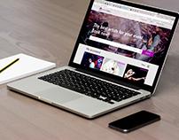 Artist booking website