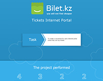 Bilet.kz Tickets Internet Portal