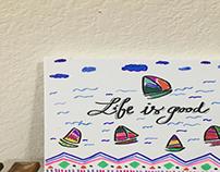 Doodle boat