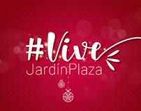 Campaña Vive Jardín plaza