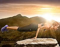 Yoga Ad Campaign