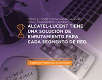 Landing Page Alcatel Lucent