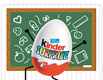 Kinder Surprise - Illustrations