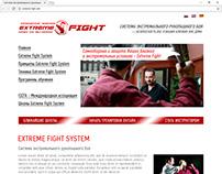 """Сайт для авторской системы самообороны """"EFS"""""""