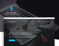 Live Worker Landing Page