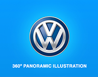 VW 360º Illustration