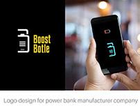 Logo design for power bank manufacturer company