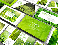 Leaf - Powerpoint Presentation Template