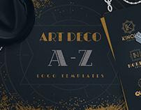 Art Deco A-Z Logo Templates