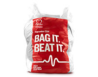 BHF Bag it. Beat it. Donation Drive
