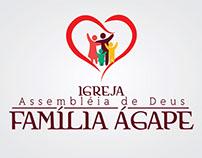 Logotipo Família Ágape