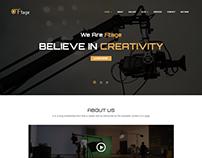 Ftage - Movie Film Marketing WordPress Theme