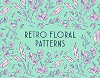 Retro Floral Patterns + Process