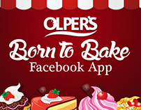 OLPER'S - Born to Bake Facebook Application