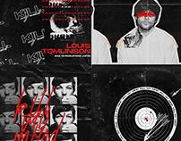 Louis Tomlinson KMM Single Covers