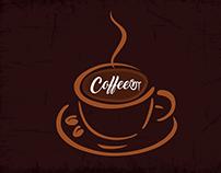 CofeeeTa shop Print Material & Social Channel Post