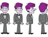 Character Designs and Turn-arounds