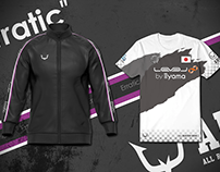 All Rejection Gaming / Uniform & Training jacket
