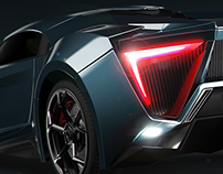 Lykan Hypersport - Night version