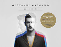 "Giovanni Caccamo - ""Qui per te"" CD cover"