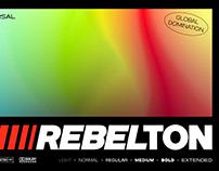 REBELTON - Modern Sans Serif Family Fonts
