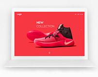 Footwear Website