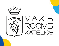 Makis Rooms Katelios Hotel Identity Design