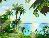 Moana Background